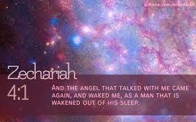 andtheangelwakedme