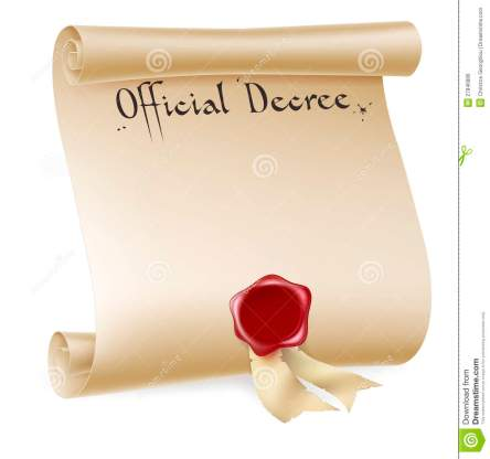 official-decree-scroll-red-wax-seal-27846886